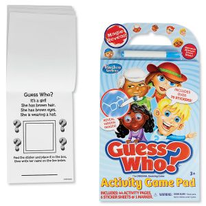 Guess Who? Activity Game Pad