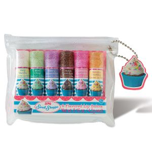 Sweet Shoppe Cupcake Lip Balm Set