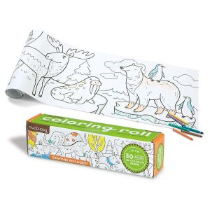 Mini Coloring Roll Animals of the World