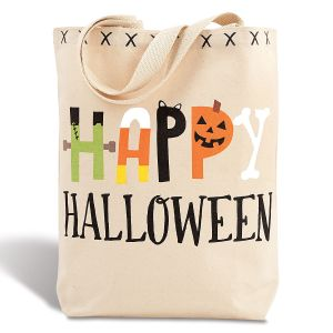 Happy Halloween Stylish Canvas Tote