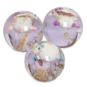 Unicorn Light-Up Bouncy Ball