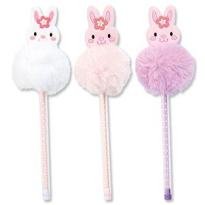 Bunny Pompom Pens