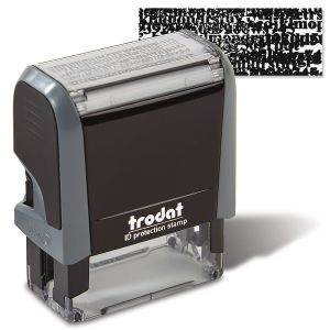Black Out Security Stamper