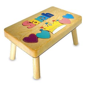 Princess Personalized  Puzzle Footstool