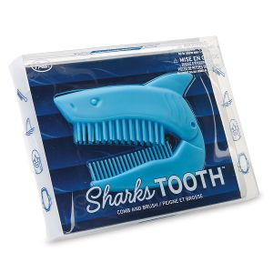 Shark's Tooth Comb & Brush