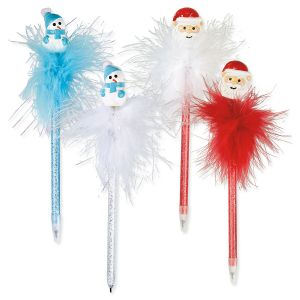 Bobble-Head Holiday Pens
