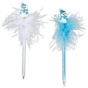 Snowman Bobble-Head Holiday Pen