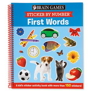 Brain Games Sticker® by Numbers First Words