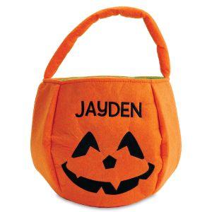 Personalized Pumpkin Treat Basket