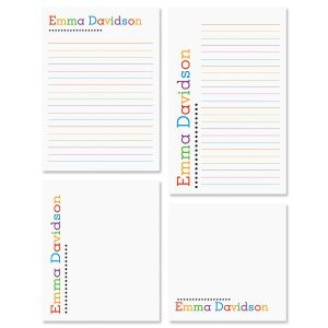 Alpha Dots Notepad Set