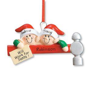 Elf Family Ornament