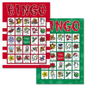 Bingo Christmas Game