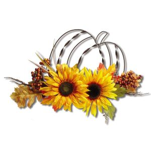 Sunflower Wire Wall Decoration