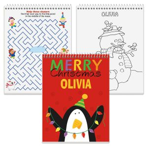 Christmas Color and Activity Book