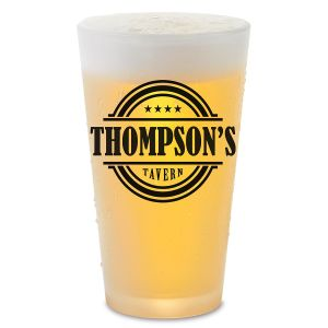 Tavern Name Pint Glass