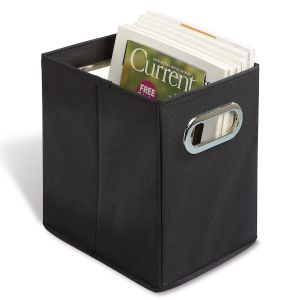 Black Canvas Magazine Holder