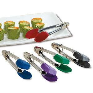 Mini Colorful Kitchen Pickle-Picker Tongs