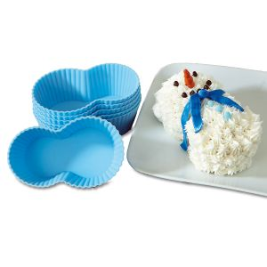 Silicone Holiday Cupcake Molds