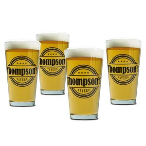 Tavern Beer Pint Personalized Glasses