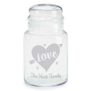 Personalized Love Treat Jar