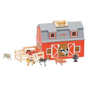 Melissa & Doug® Fold & Go Personalized Barn