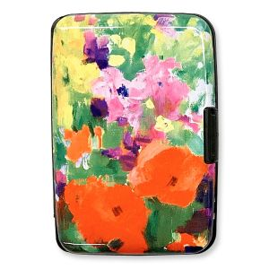 Beautiful Flowers RFID Armored Wallet