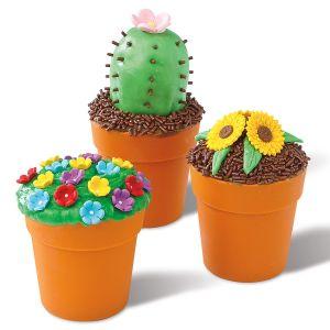 Flower Pot Baking Cups