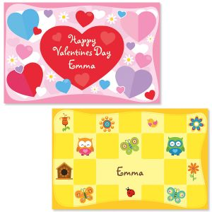 Hearts Placemat for Kids