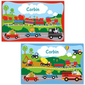 kids personalized placemats lillian vernon