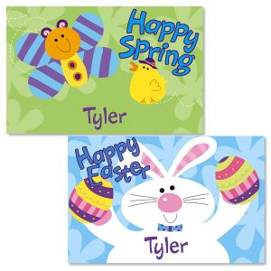 Kids Blue Easter Placemat