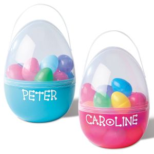 Plastic Personalized Egg