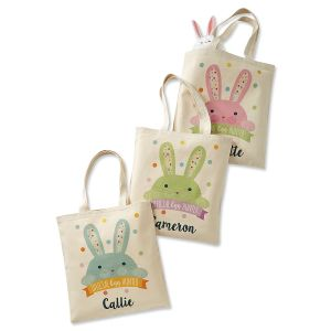 Egg-Hunter Personalized Easter Totes