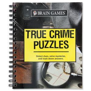 Brain Games® True Crime Puzzles