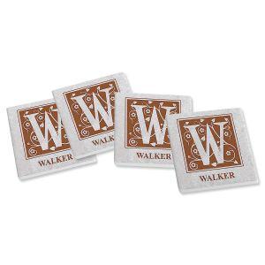 Personalized Established Ceramic Coasters