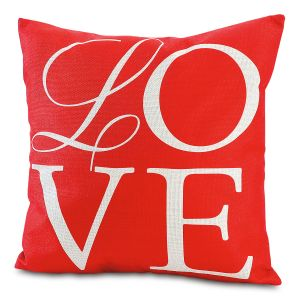 Love Letters Valentine Pillow Cover