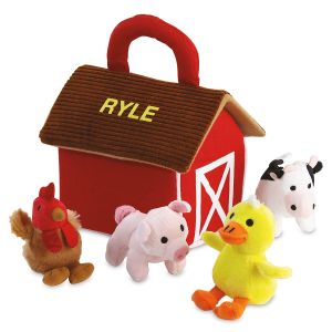 Personalized Barn with Friends