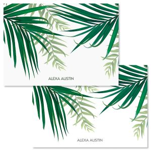 Monstera Palm Folded Note Cards