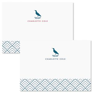 Sandpiper Folded Note Cards