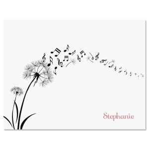 Dandelion Notes Folded Note Cards