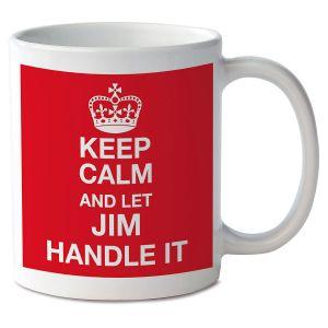 Keep Calm and Let Handle It Mug