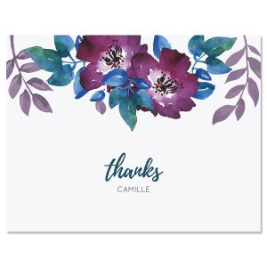 Camila Floral Folded Note Cards