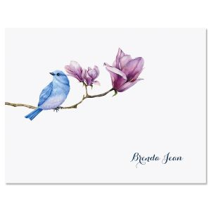 Magnolia Bird Folded Note Cards