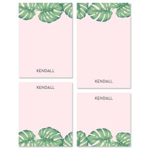 Pink Palms Notepads