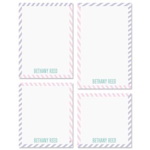 Pastel Lines Notepads