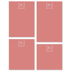 Bracket Monogram Notepads