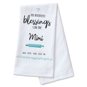 Greatest Blessings Kitchen Towel