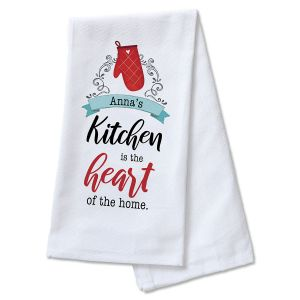 Heart of the Home Personalized Kitchen Towel