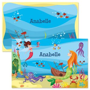 Mermaid Personalized Kids' Placemat