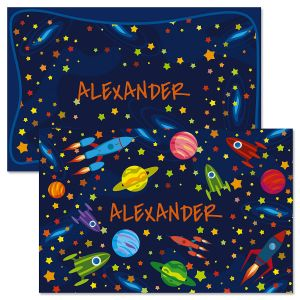 Space Personalized Kids' Placemats