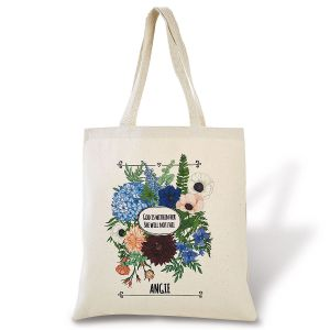 """God Is within Her""  Personalized Tote"
